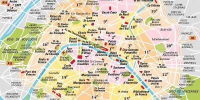 Paris Kort Kort Ile De France France